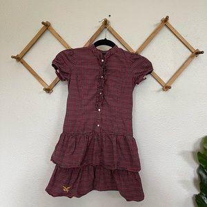 American Living Girls Plaid Dress